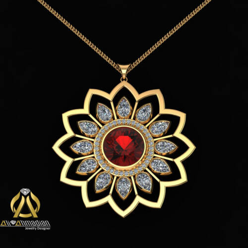 طراحی طلا و جواهرات احمدیان