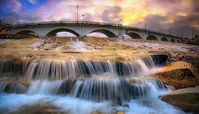 پل چشمه کیله در تنکابن